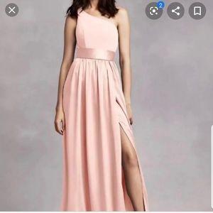 Vera Wang Blush Bridesmaid Dress